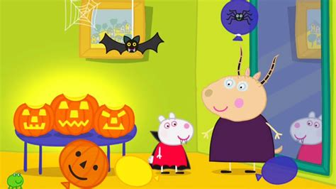 Peppa's Pumpkin Party  Animated Peppa Pig Story Youtube