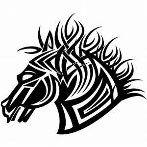 Tribal Horse Vector Vector | Free Download