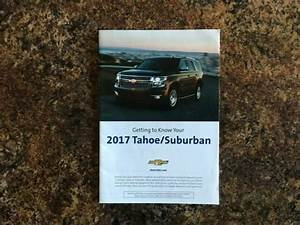2017 Chevrolet Tahoe Suburban Quick Reference Guide