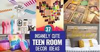 diy teen room decor 37 Insanely Cute Teen Bedroom Ideas for DIY Decor | Crafts for Teens