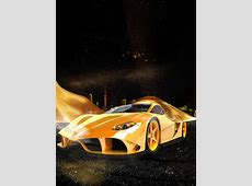 Ferrari Sports Car Poster Background, Car, Poster, Gold