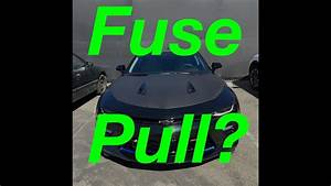 2016 Camaro Ss Fuse Pull       Should You Pull It