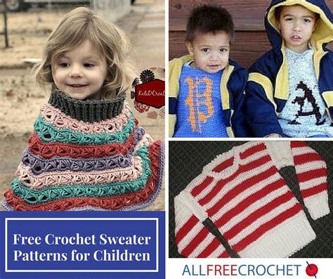 15 free crochet sweater patterns for children 919 | Free Crochet Sweater Patterns for Children ExtraLarge1000 ID 1748259