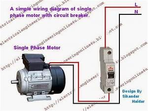1 Phase Motor Wiring Diagram
