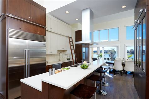 Warm Modern Clean Lines  The Kitchen Source