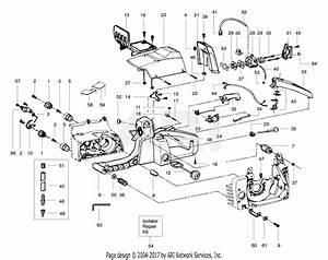 Poulan Pp365 Gas Saw  Pp365 Parts Diagram For External