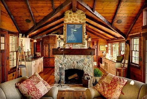 separating room ideas 22 luxurious log cabin interiors you to see log