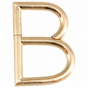 bulgari gold quotbquot letter keychain for sale at 1stdibs With gold letter b