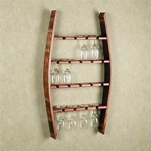 woodworking plans wine glass rack woodproject