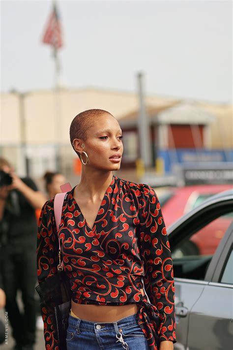 model  duty adwoa aboah   york fashion week