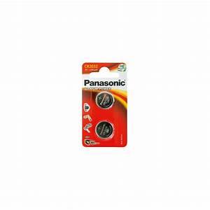 Pile Bouton Cr2032 : panasonic 2 piles bouton cr2032 0 90 ~ Melissatoandfro.com Idées de Décoration