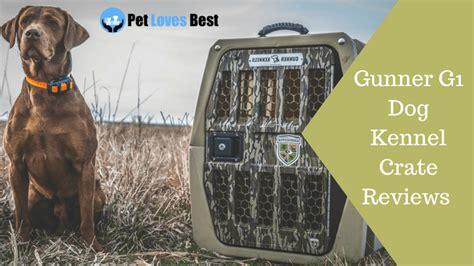 gunner  dog kennel crate reviews crash proof escape
