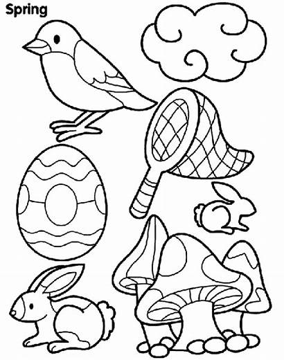 Coloring Spring Pages Things Crayola Frog Printable