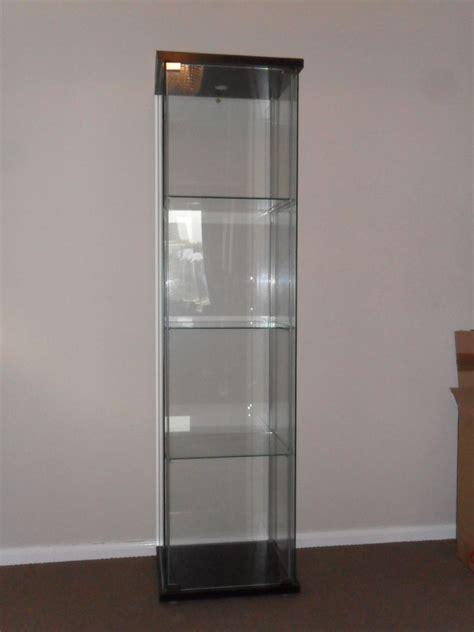 detolf glass door cabinet ikea detolf glass door display cabinet unit in great