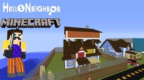 neighbor act   minecraft youtube