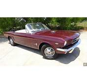 Ford Mustang Convertible 1965 For Sale 5F08F118007 1964 1