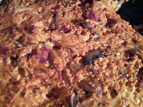 cuisiner millet recette de gratin de millet aux chignons et tomates