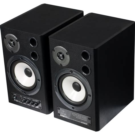 behringer ms40 powered studio monitor speakers belfield