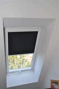 Halterung Für Rollos : montage eines verdunkelungsrollos f r ein velux dachfenster hausbau blog ~ Whattoseeinmadrid.com Haus und Dekorationen