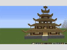 Minecraft How To Build Awesome Asian House Tutorial Part