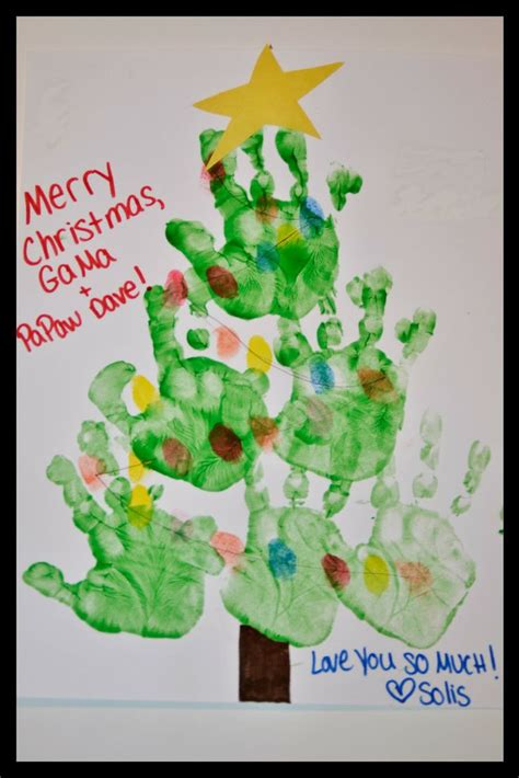 1000 Ideas About Hand Print Tree On Pinterest Hand