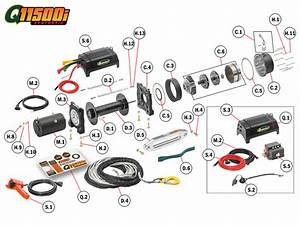 Q11500is Winch Replacement Parts