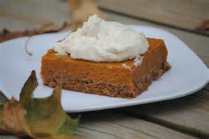 Cake Mix And Pumpkin Pie Filling Recipe by The Farm Recipes Pumpkin Pie Bars