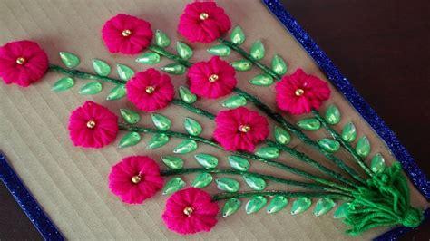 amazing woolen craft ideas     woolen