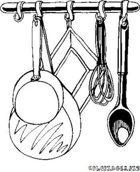 dessin animé de cuisine dessin ustensile cuisine