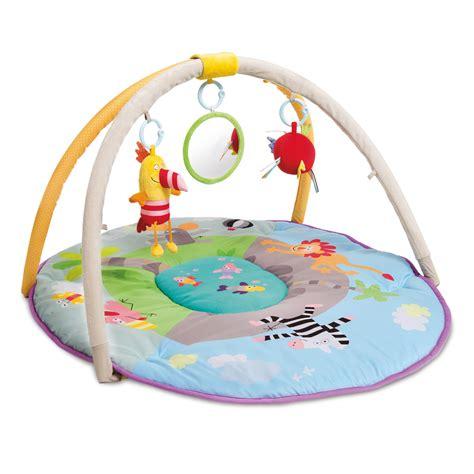 tapis d 233 veil aire de jeu jungle de taf toys chez naturab 233 b 233
