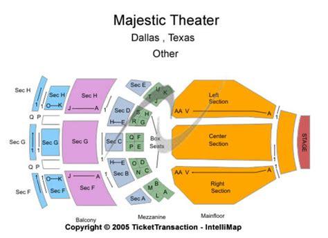 majestic theatre   dallas texas majestic theatre seating charts   schedule