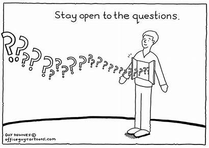 Questions Cartoons Office Straw Through Culture Officeguycartoons