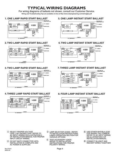 Iota Emergency Ballast Wiring Diagram Free