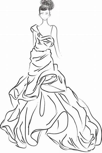 Sketches Coloring Pages Jessica Illustration Colouring Visit