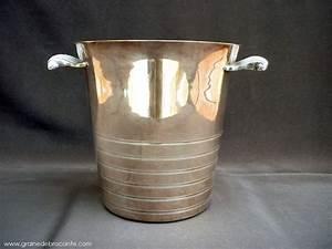 Seau En Metal : seau champagne en m tal argent ann es 50 ~ Teatrodelosmanantiales.com Idées de Décoration