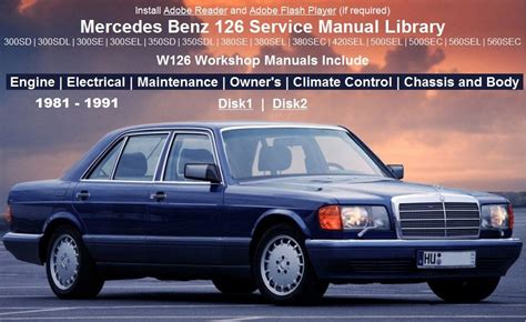 auto repair manual online 1983 mercedes benz w126 electronic throttle control mercedes benz 126 maintenance service repair and owners manuals
