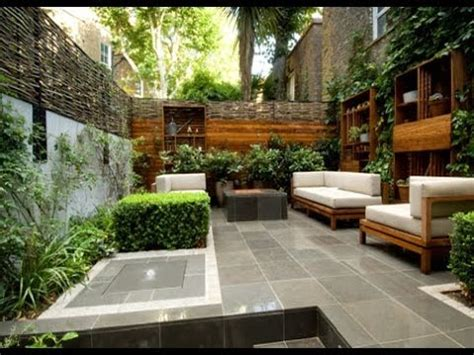small city backyard ideas urban garden design ideas and pictures youtube