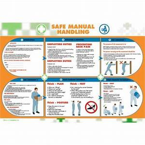 Wallace Cameron Health And Safety Poster Safe Manual