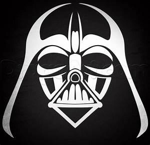 Drawn Mask Darth Vader Pencil And In Color Drawn Mask