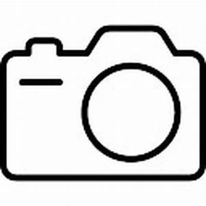 Foto-Kamera mit Blitzlicht Kontur | Download der ...
