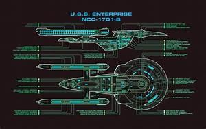 Star Trek  Uss Enterprise  Spaceship   Schematic Wallpapers Hd    Desktop And Mobile Backgrounds