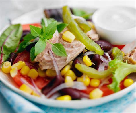 cuisine vert olive la salade mexicaine entrée rapide du chef cyril lignac