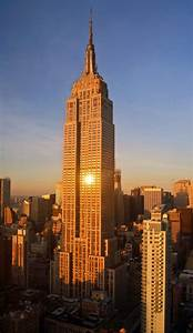 What are the dimensions of the empire state building for How many floors the empire state building have