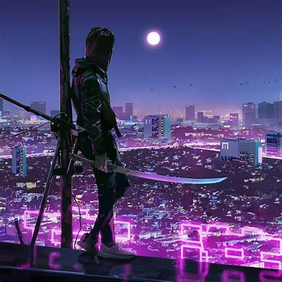 Cyberpunk Warrior 4k Ipad Resolution Published January