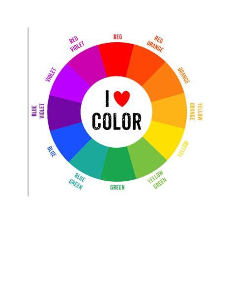 css color wheel chart
