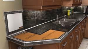 tile kitchen countertop ideas countertops schluter
