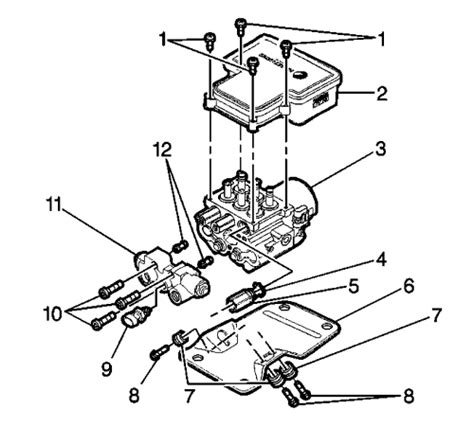 repair anti lock braking 1997 chevrolet 1500 seat position control repair guides anti lock brake system electronic brake control module autozone com