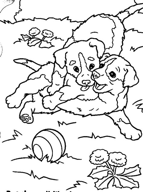 puppies coloring pages coloring pages  print