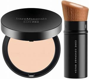 bareMinerals barePRO Foundation and Brush - Page 1 — QVC com
