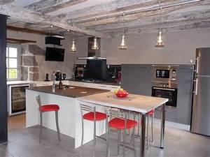 amenagee cuisines 2c creations With idée de cuisine aménagée